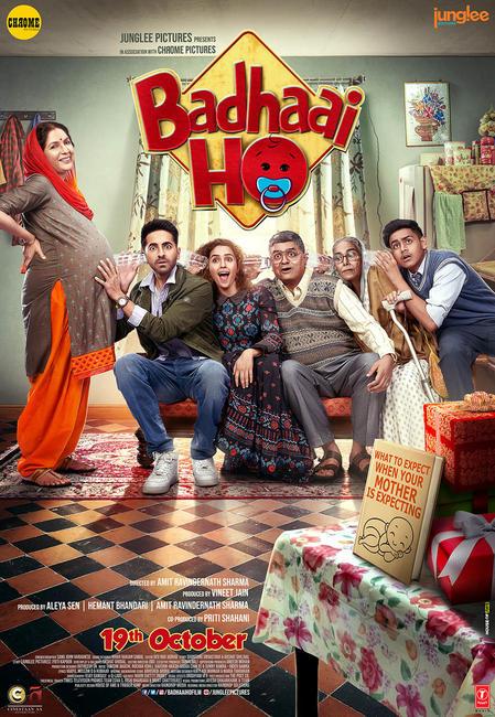 Badhaai Ho (2018) Hindi 720p WEB DL x264 AC3-Sun George