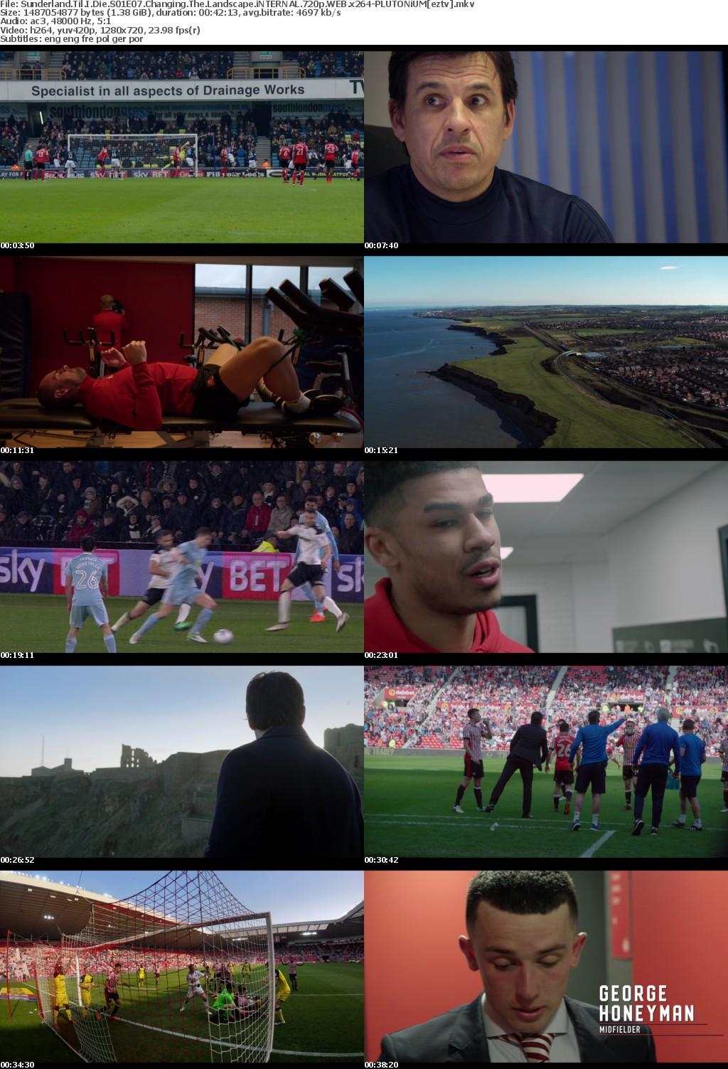 Sunderland Til I Die S01E07 Changing The Landscape iNTERNAL 720p WEB x264-PLUTONiUM