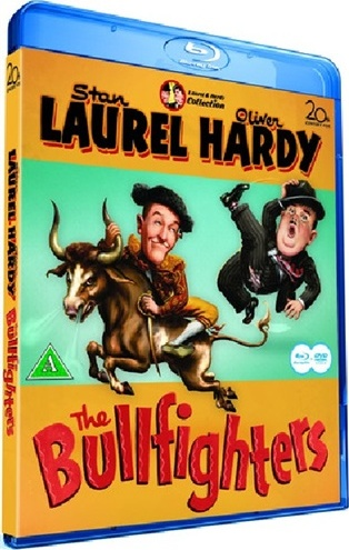 Laurel And Hardy The Bullfighters Comedy (1945) BRRip Eng Ita Pol Multi-Subs H264-DLW