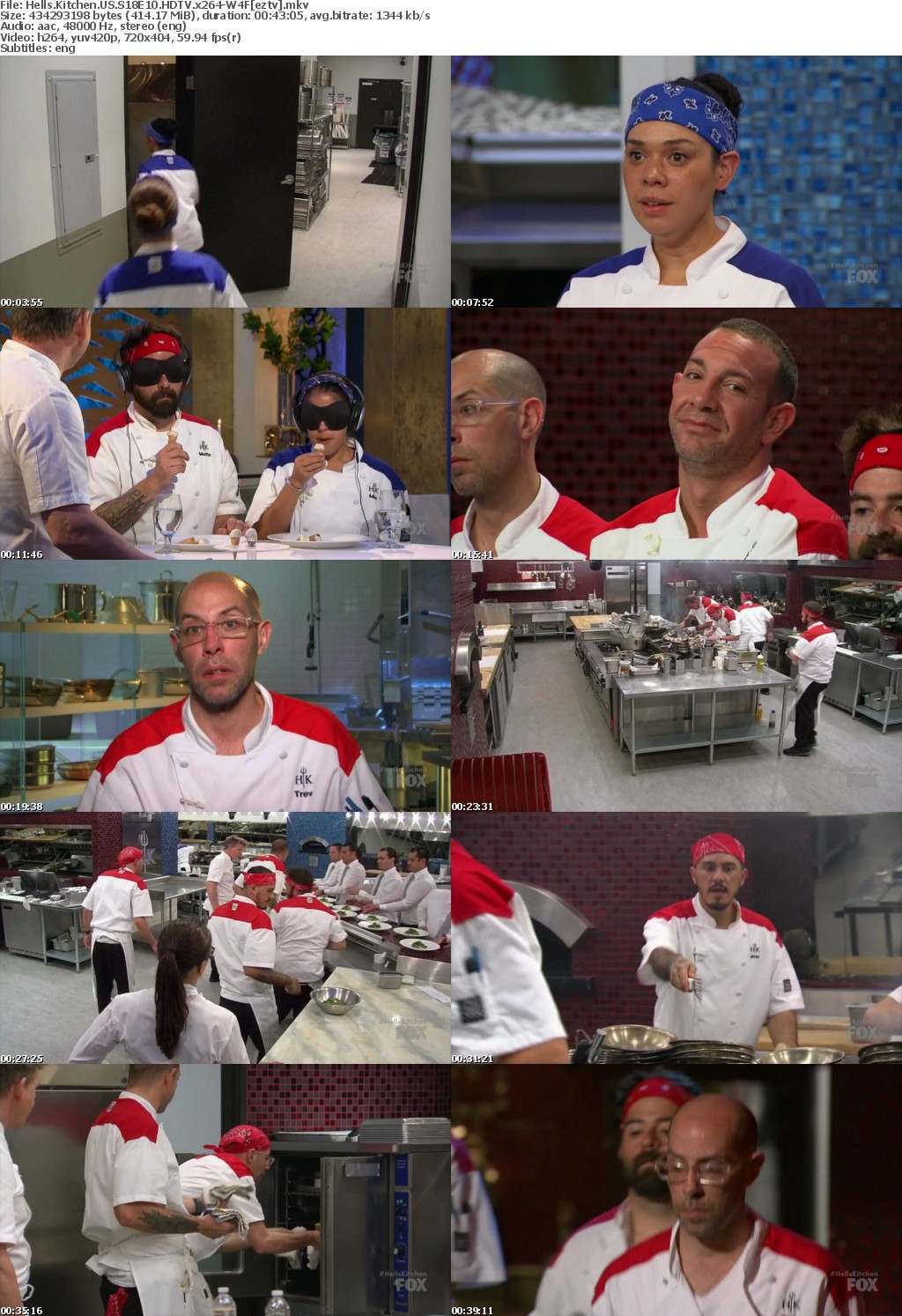 Hells Kitchen US S18E10 HDTV x264-W4F