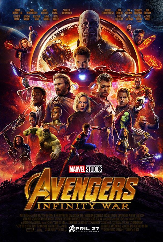 Avengers Infinity War (2018) BRRip XviD MP3-XVID