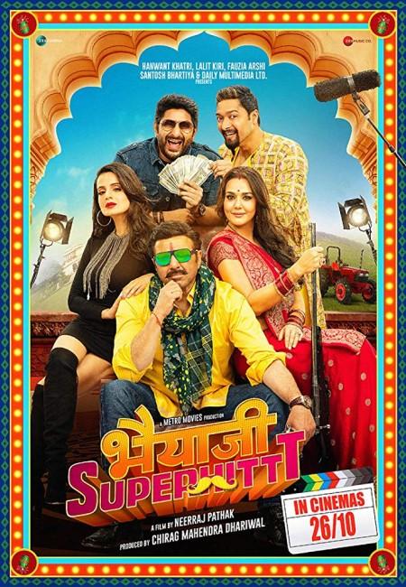 Bhaiaji Superhit (2018) Hindi 720p HDRip x264 AAC -UnknownStAr mkv
