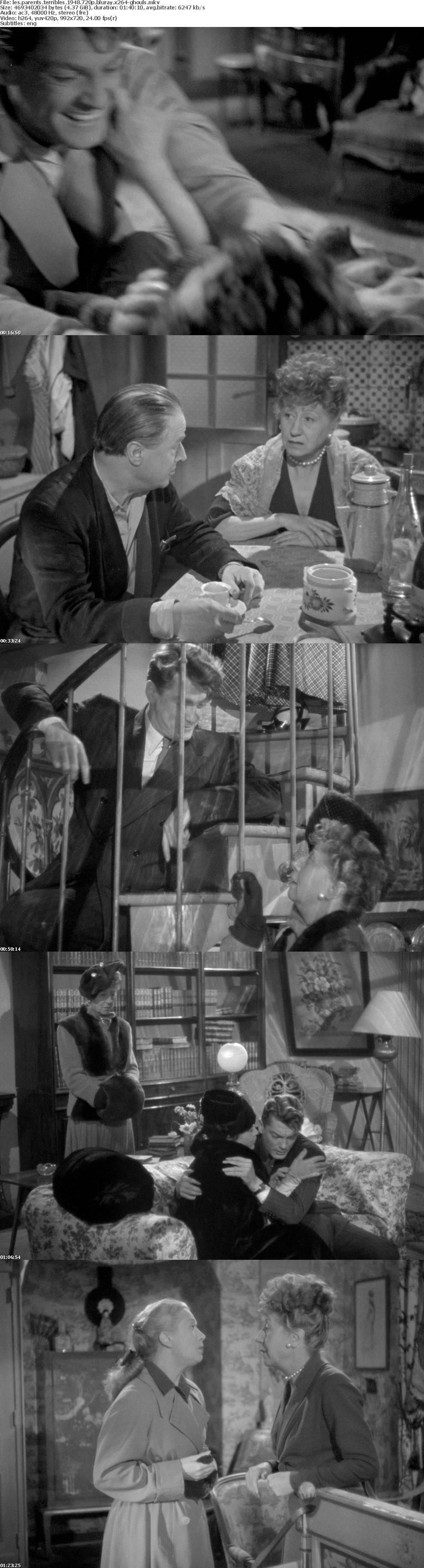 Les Parents Terribles 1948 720p BluRay x264-GHOULS
