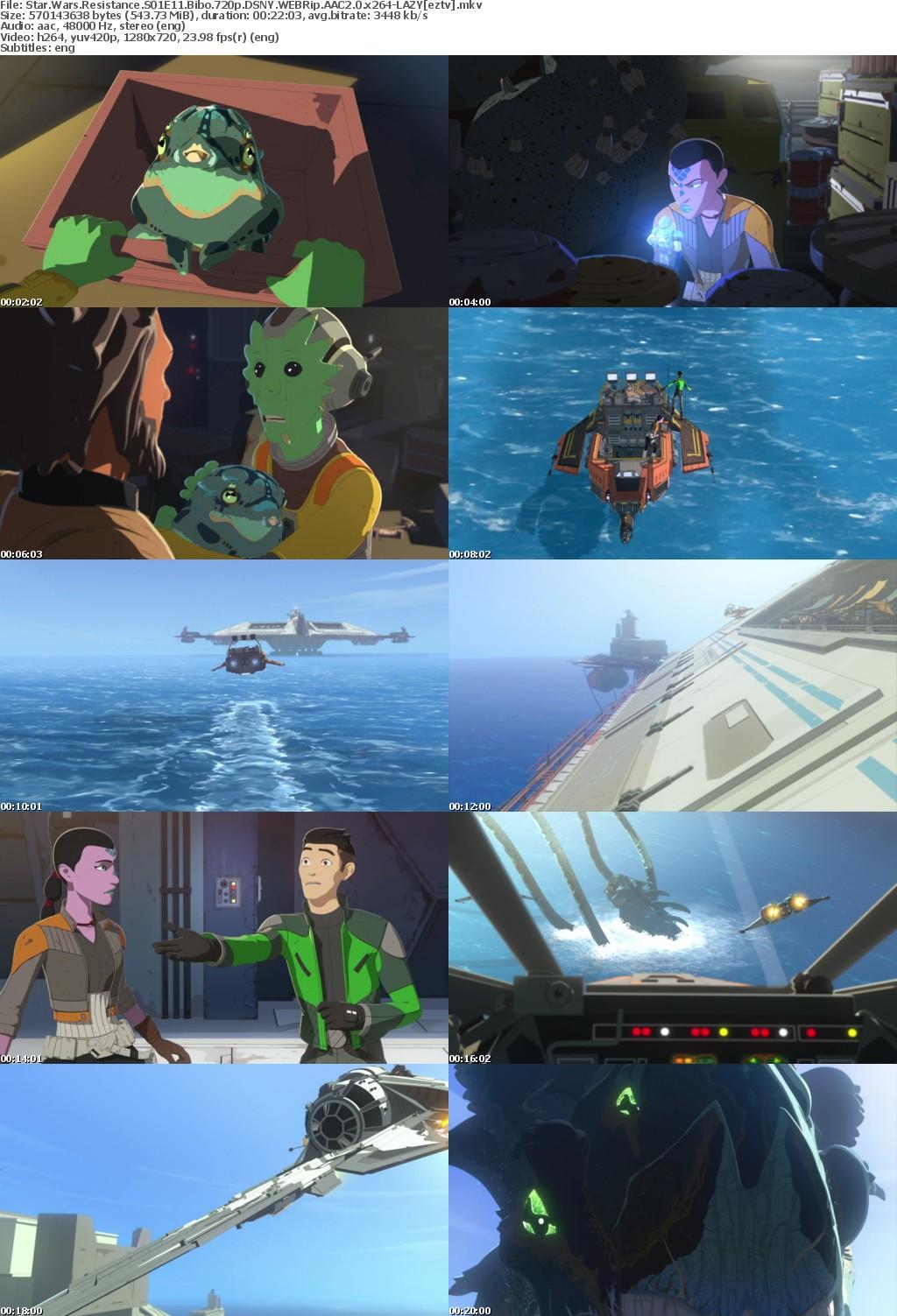 Star Wars Resistance S01E11 Bibo 720p DSNY WEBRip AAC2 0 x264-LAZY