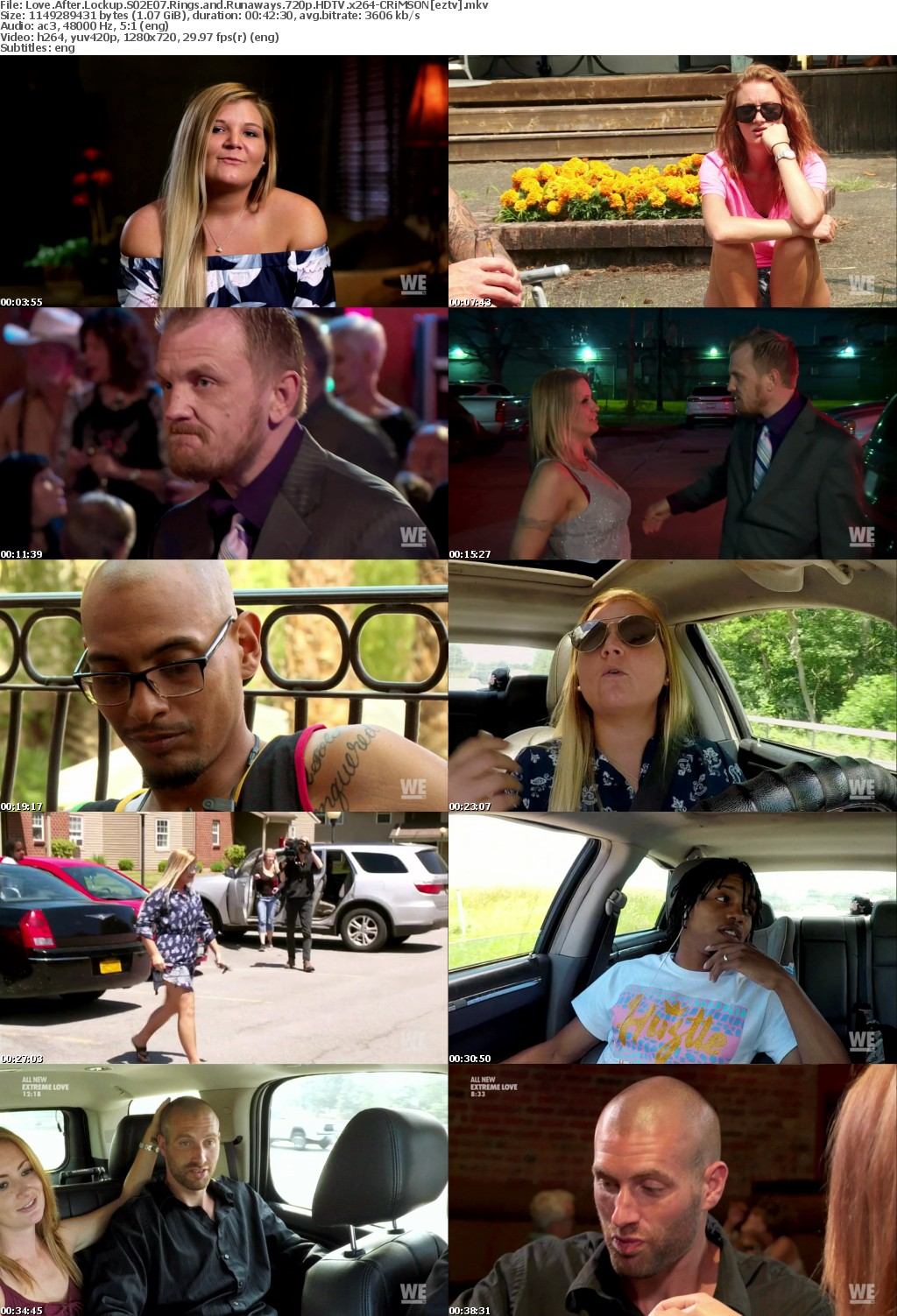 Love After Lockup S02E07 Rings and Runaways 720p HDTV x264-CRiMSON