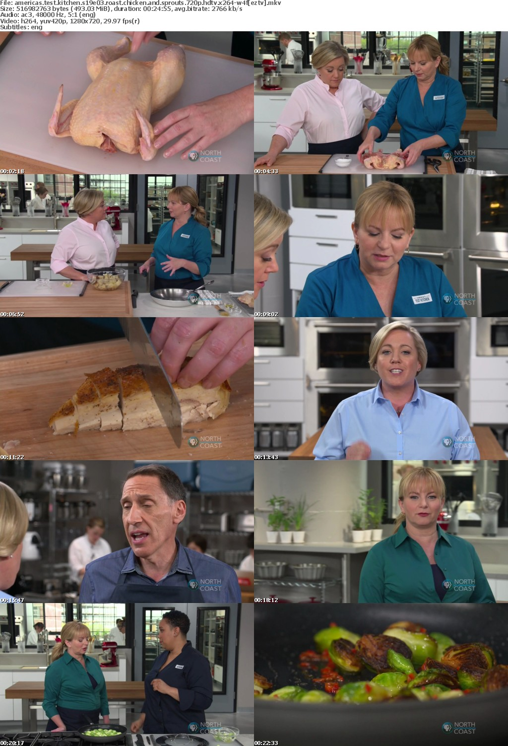 Americas Test Kitchen S19E03 Roast Chicken and Sprouts 720p HDTV x264-W4F