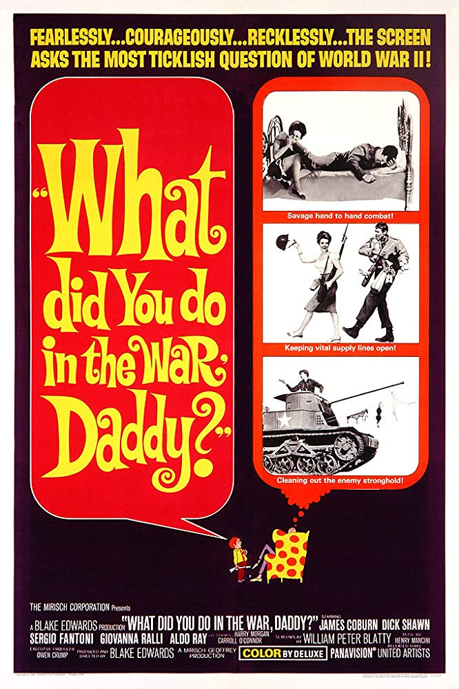 What Did You Do in the War Daddy 1966 BRRip XviD MP3-XVID