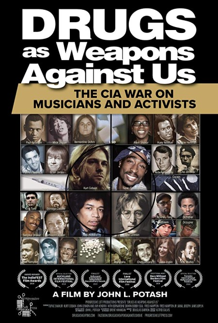 Drugs as Weapons Against Us The CIA War on Musicians and Activists 2018 HDRip XviD-AVID