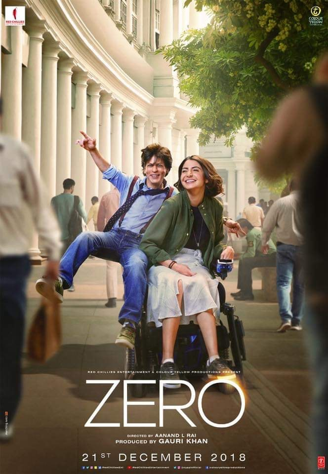 Zero 2018 Hindi 720p WEB Rip x264 AAC DD5 1 ESUBS Telly Exclusive