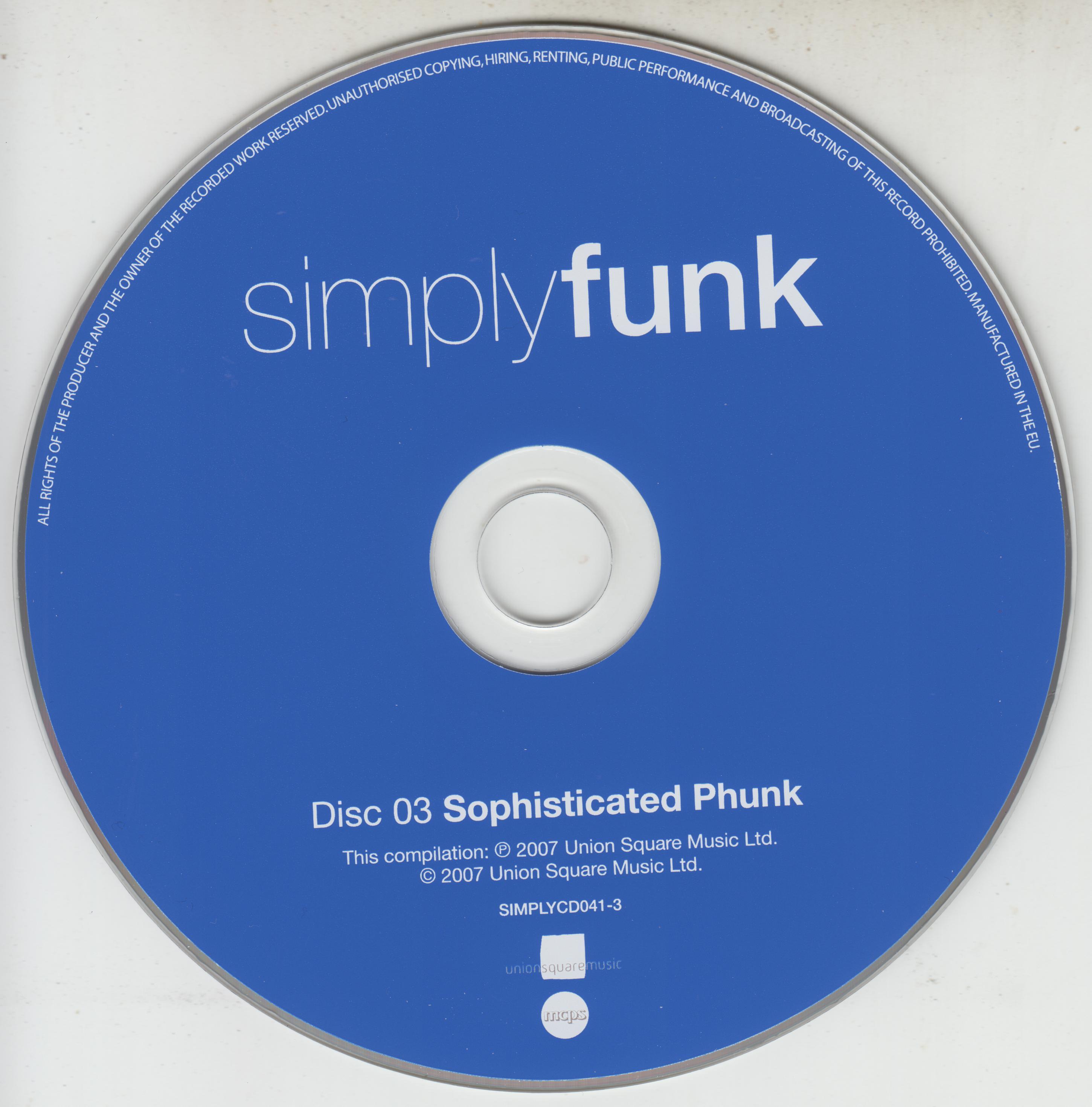 VA - Simply Funk - 4-CD-(2007)-[MP3-320]-[TFM]