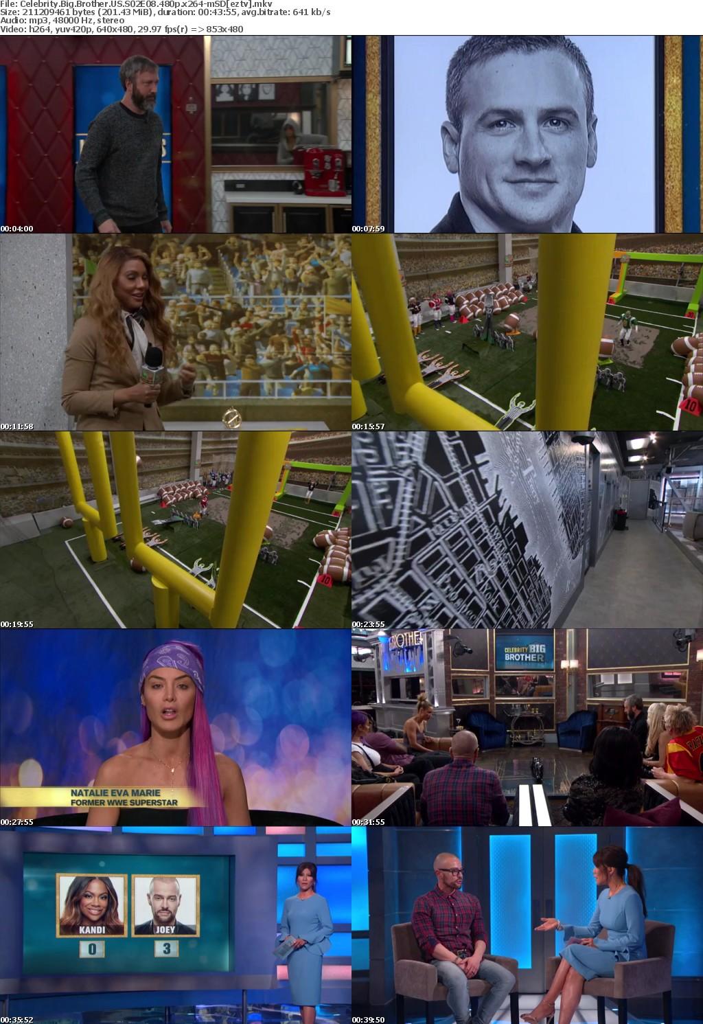 Celebrity Big Brother US S02E08 480p x264-mSD