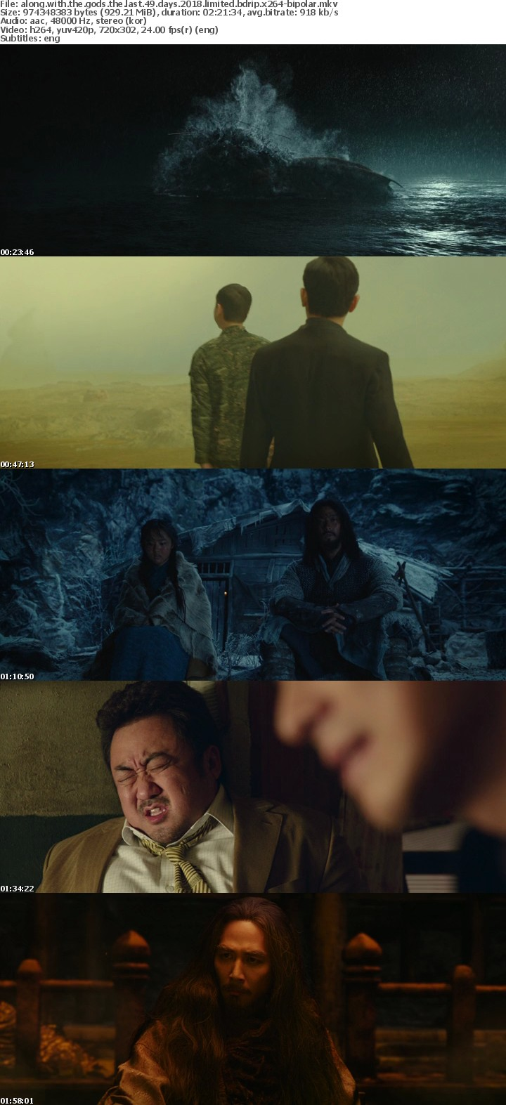 Along with the Gods The Last 49 Days 2018 LIMITED BDRip x264-BiPOLAR