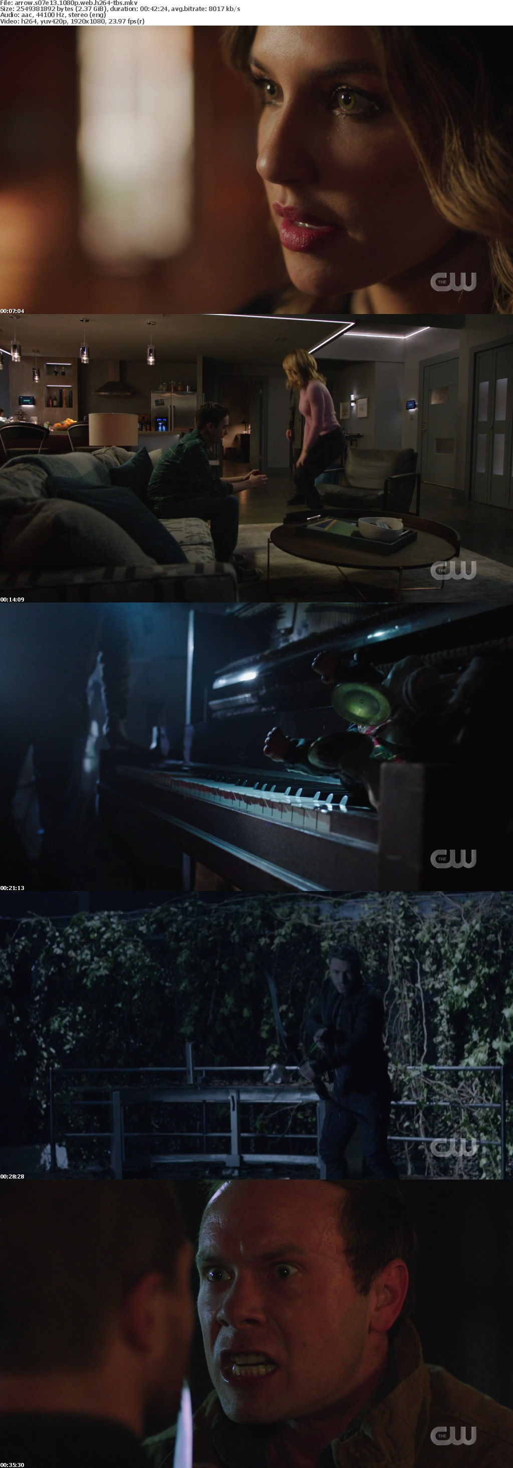 Arrow S07E13 1080p WEB h264-TBS