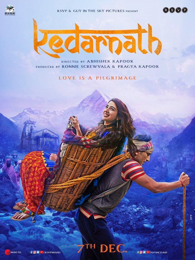 Kedarnath 2018 Hindi 720p WEB-DL x264 AC3-Sun George