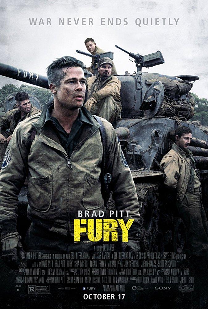 Fury 2014 [BluRay] [720p] YIFY
