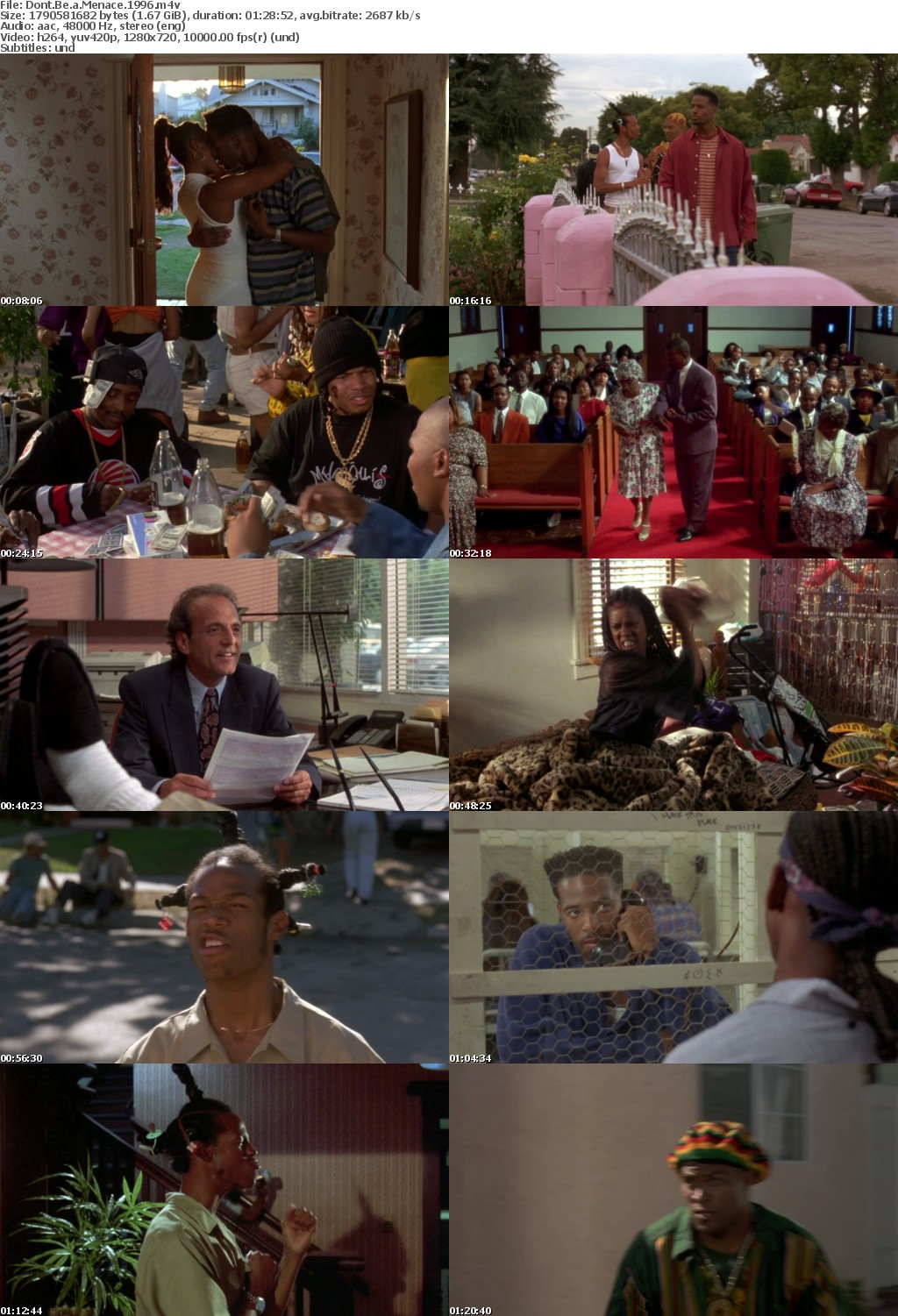 Dont Be a Menace (1996) 720p BRRip x264-Obey