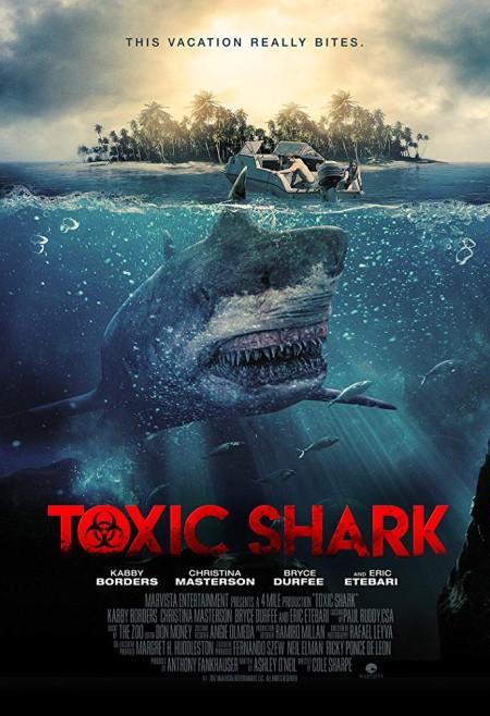 Toxic Shark (2017) 720p BluRay 800MB x264-GalaxyRG