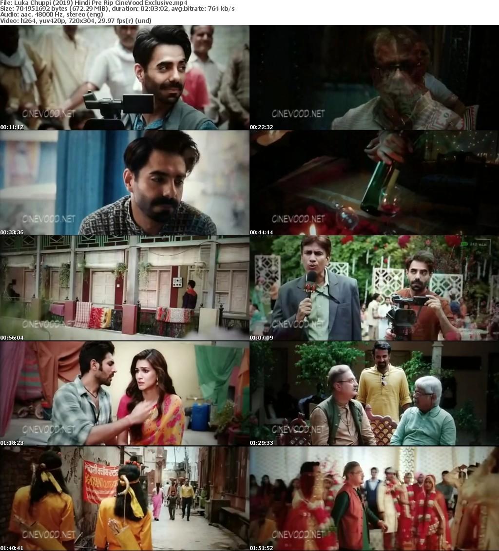 Luka Chuppi (2019) Hindi Pre Rip CineVood Exclusive