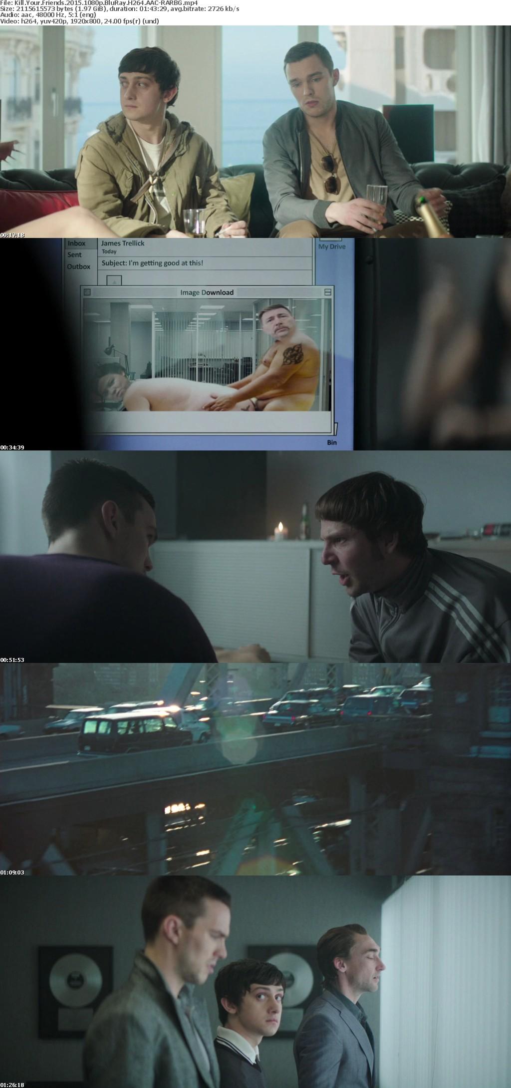 Kill Your Friends 2015 1080p BluRay H264 AAC-RARBG