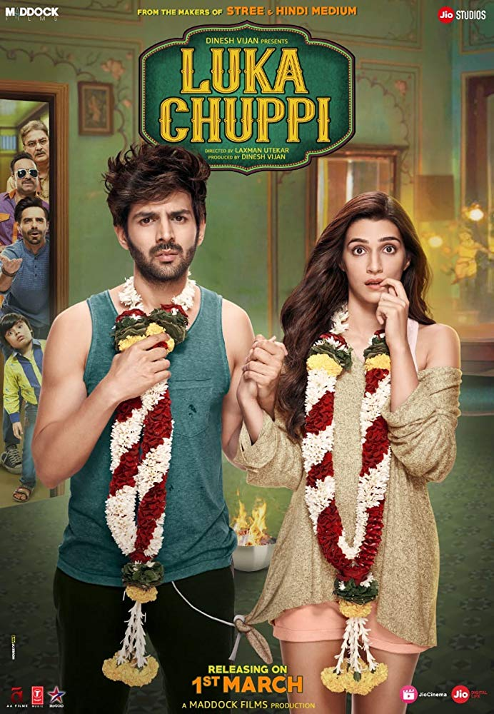 Luka Chuppi 2019 Hindi 720p Pre DvDRip x264 AAC [Team DRSD]