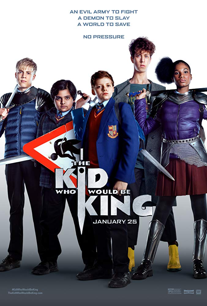 The Kid Who Would Be King 2019 HC HDRip AC3 X264-CMRG