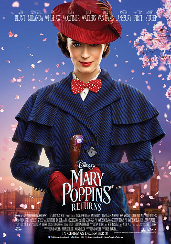 Mary Poppins Returns 2018 x 1600 (2160p) HDR 5 1 x265 10bit Phun Psyz