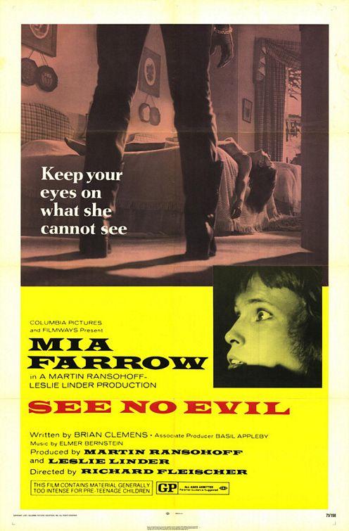 See No Evil 1971 BRRip XviD MP3-XVID