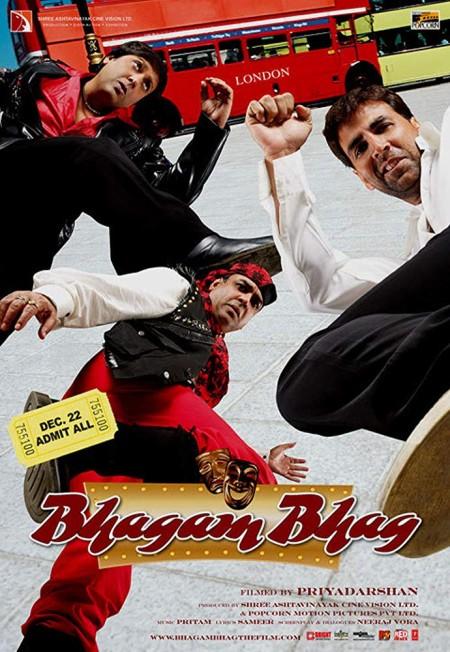 Bhagam Bhag (2006) Hindi 720p BluRay x264 DD 5.1 ESubs -Sun George (Requested)