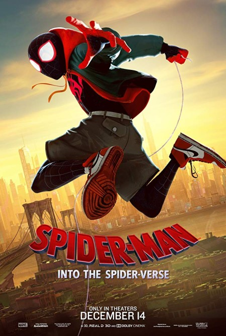Spider-Man Into The Spider-Verse 2018 720p BluRay x264 Dual Audio Hindi Org DD 5 1 - English 2 0 ESub MW