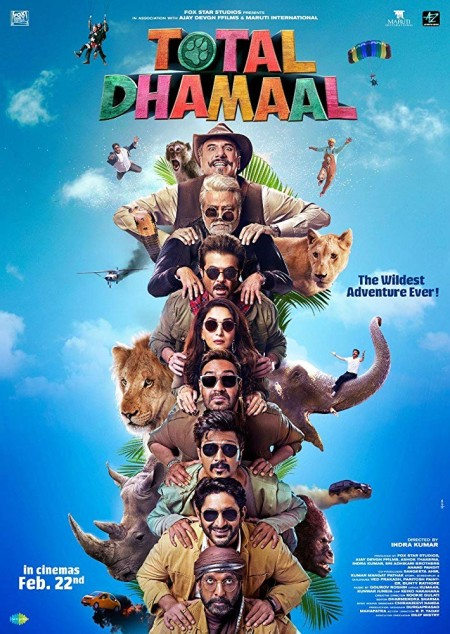 Total Dhamaal (2019) 720p Hindi (DD 5 1) HDRip x264 AC3 by Full4movies