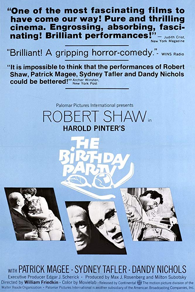 The Birthday Party 1968 720p BluRay x264-x0r