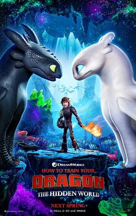 How to Train Your Dragon The Hidden World (2019) 1080p HC HDTC H264 AAC  RTM