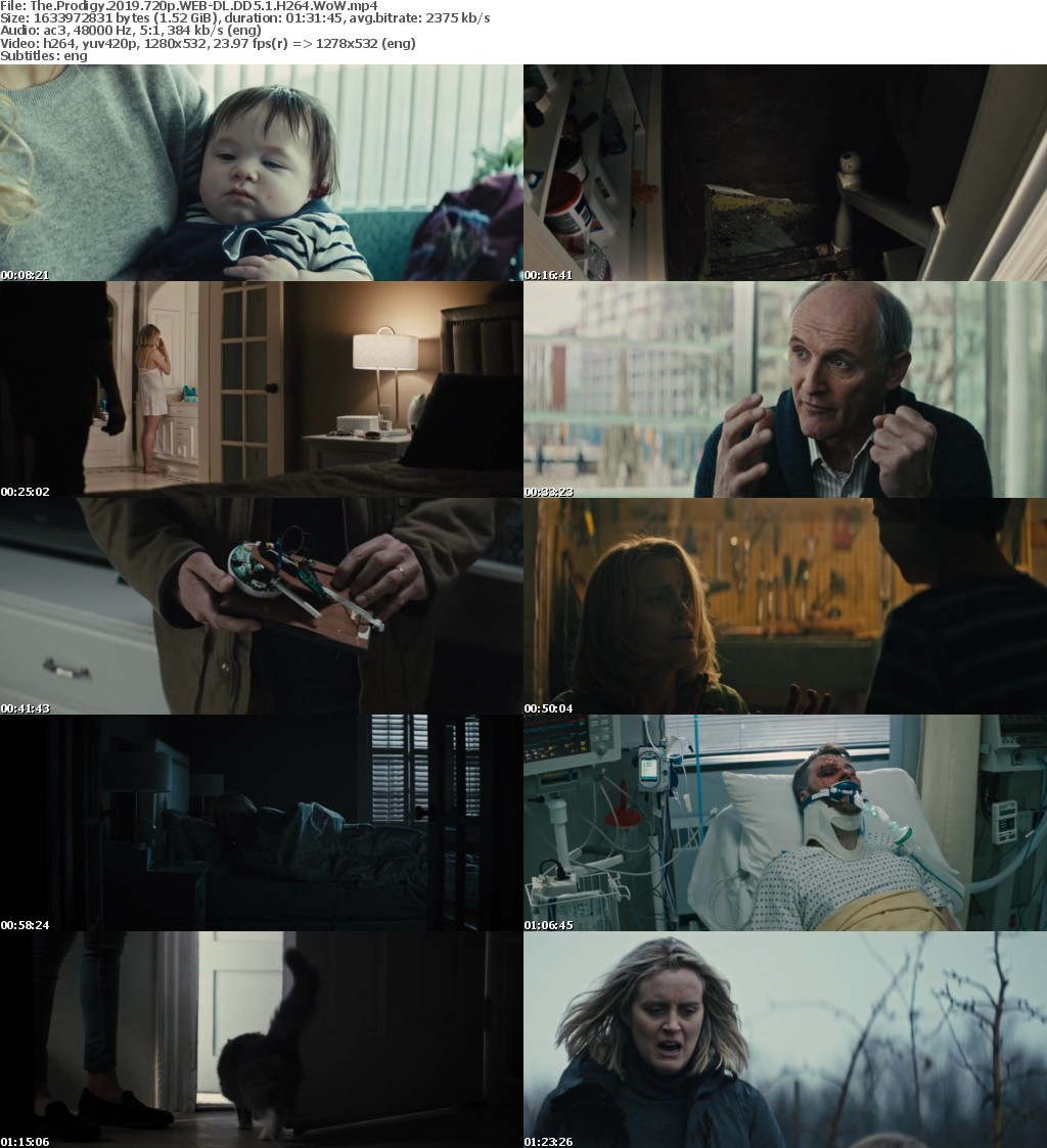 The Prodigy 2019 720p WEB-DL DD5 1 H264 WoW