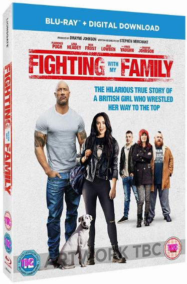 Fighting with My Family (2019) 1080p WEBRip 1400MB DD5.1 x264-GalaxyRG