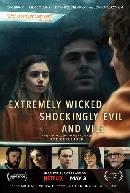 Extremely Wicked Shockingly Evil and Vile 2019 720p WEBRip 800MB x264-GalaxyRG
