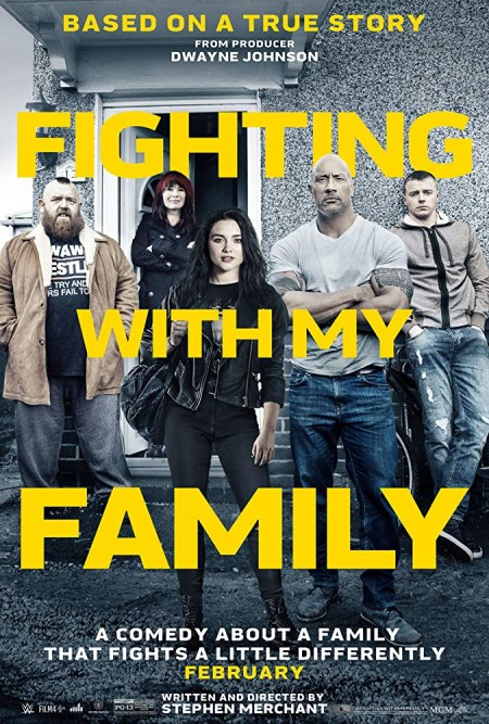 Fighting with My Family 2019 BRRip AC3 x264-CMRG