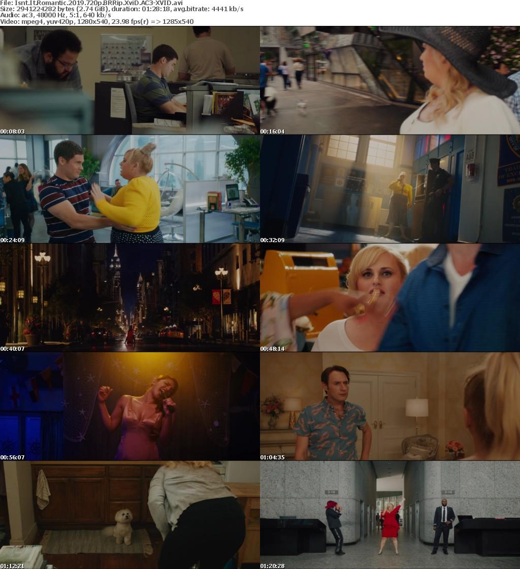 Isnt It Romantic (2019) 720p BRRip XviD AC3-XVID