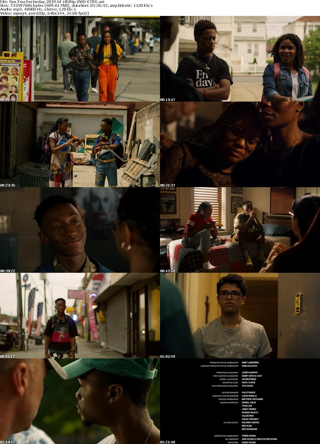 See You Yesterday (2019) NF HDRip XViD-ETRG