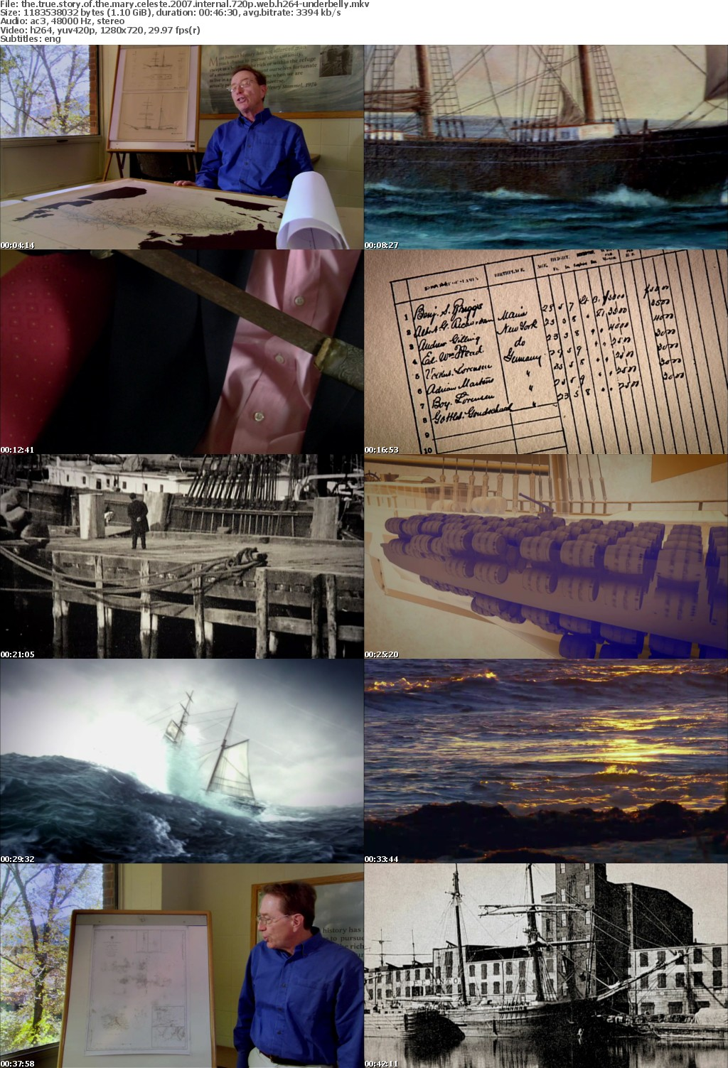 The True Story of the Mary Celeste 2007 INTERNAL 720p WEB H264-UNDERBELLY