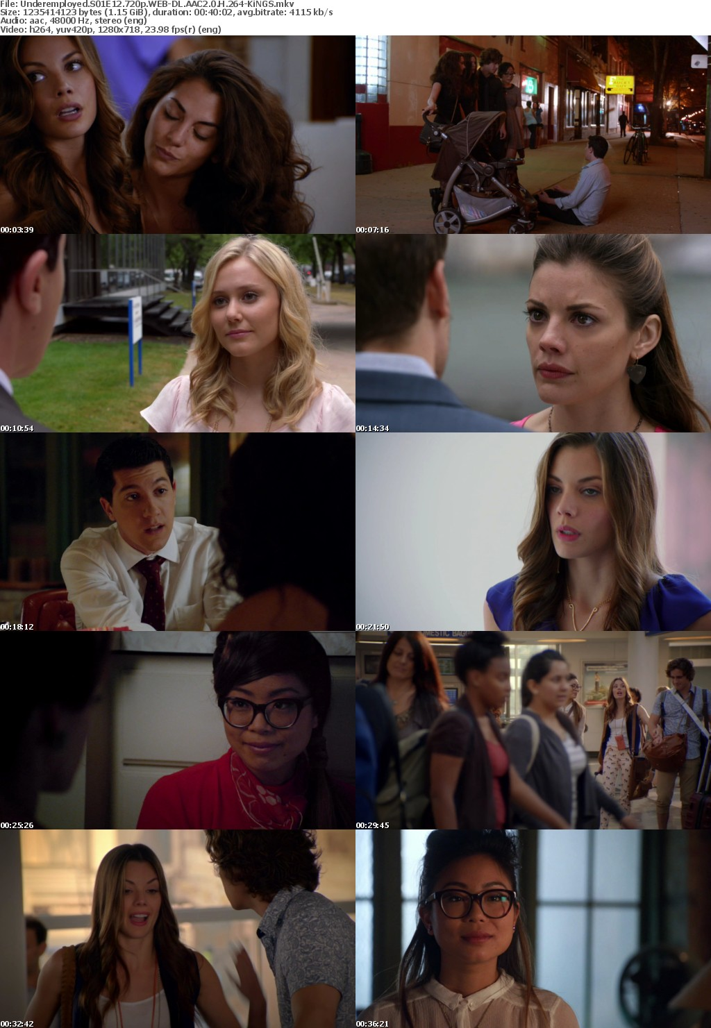 Underemployed S01 720p WEB-DL AAC2 0 H 264-KiNGS