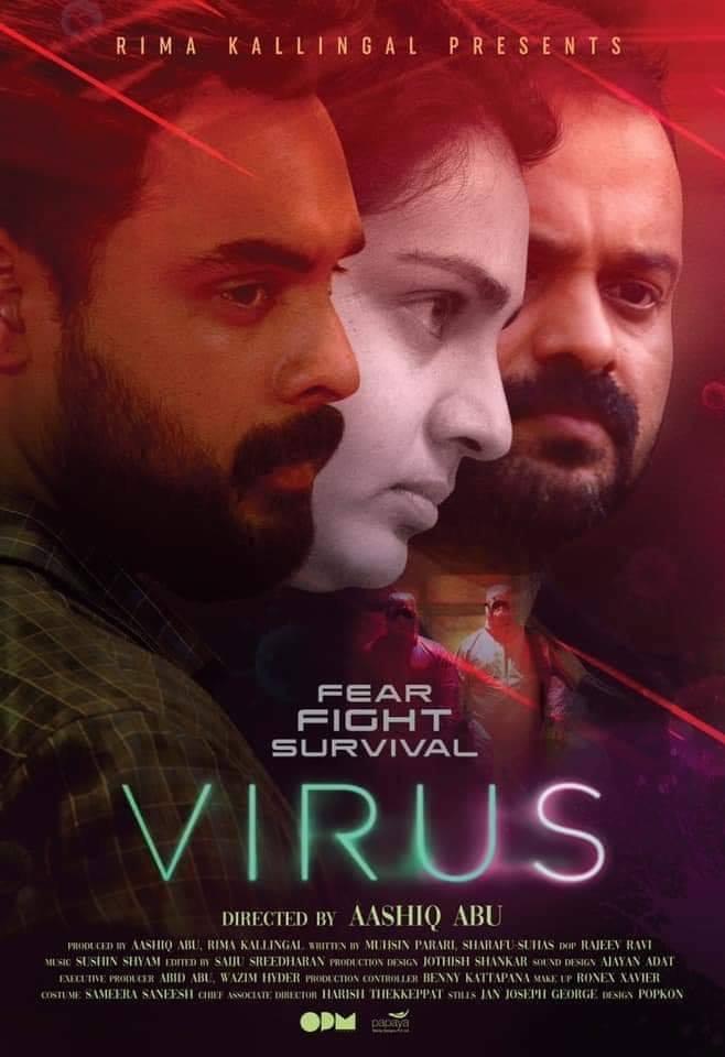Virus 2019 Malayalam 1080p HQ Real DVDScr - x264 - MP3 - 2 5GB - HQ Line Audio