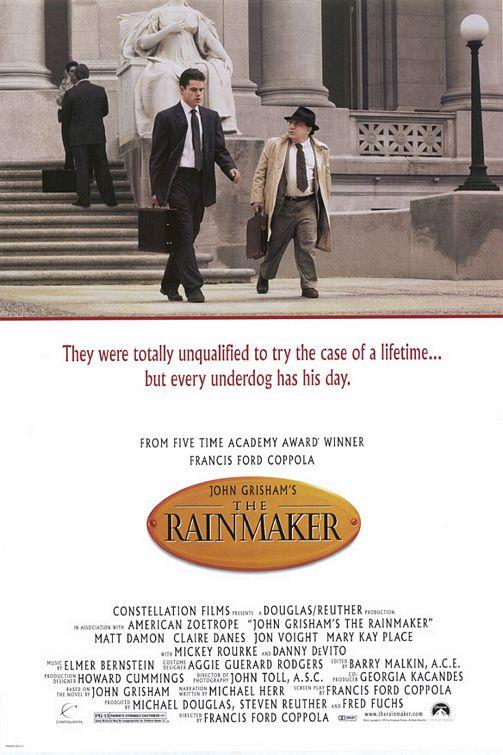 The Rainmaker 1997 x264 720p Esub BluRay 6 0 Dual Audio English Hindi GOPISAHI