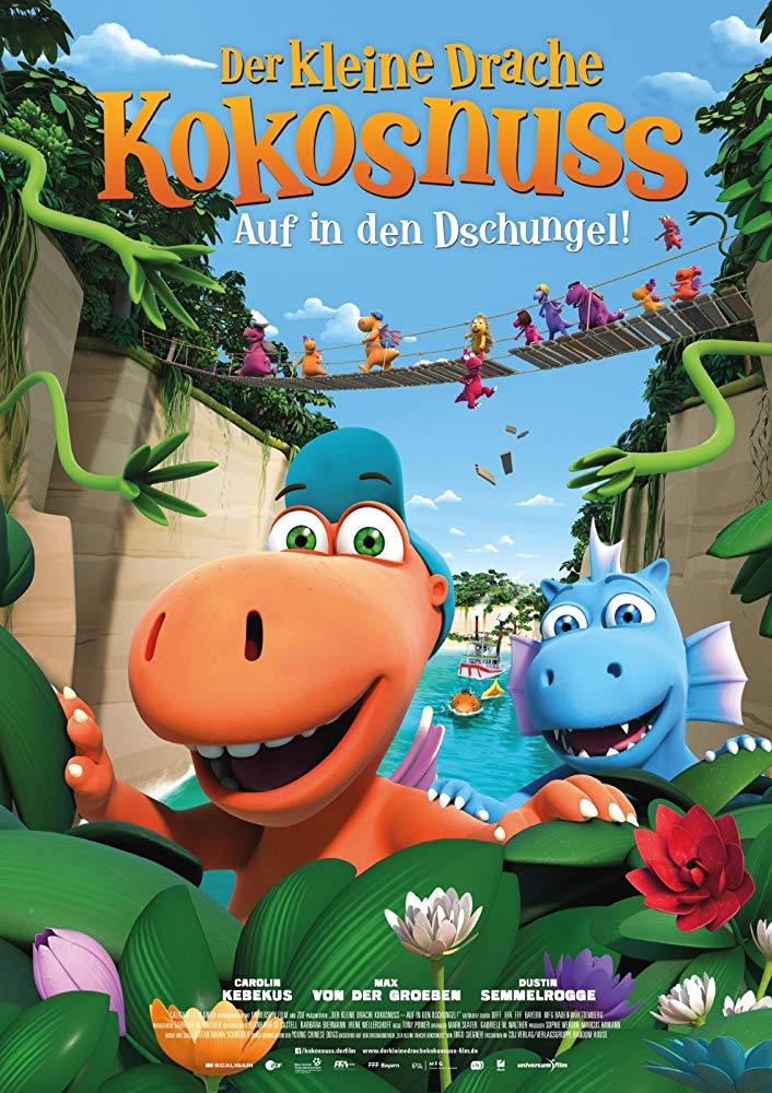 Coconut the Little Dragon 2 Into the Jungle 2018 DUBBED 720p BRRip XviD AC3-XVID