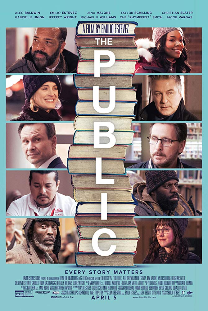 The Public 2018 [BluRay] [1080p] YIFY
