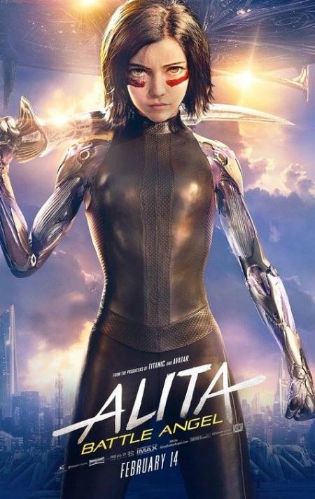 Alita Battle Angel (2019) (Dual Audio) 720p HDRip x264 Hindi DD 5 1 English 5 1 ESubs Sun George
