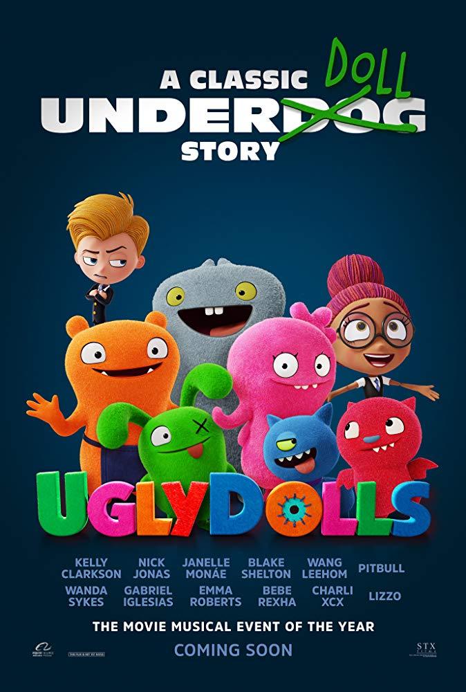 UglyDolls 2019 720p BluRay 800MB x264-GalaxyRG