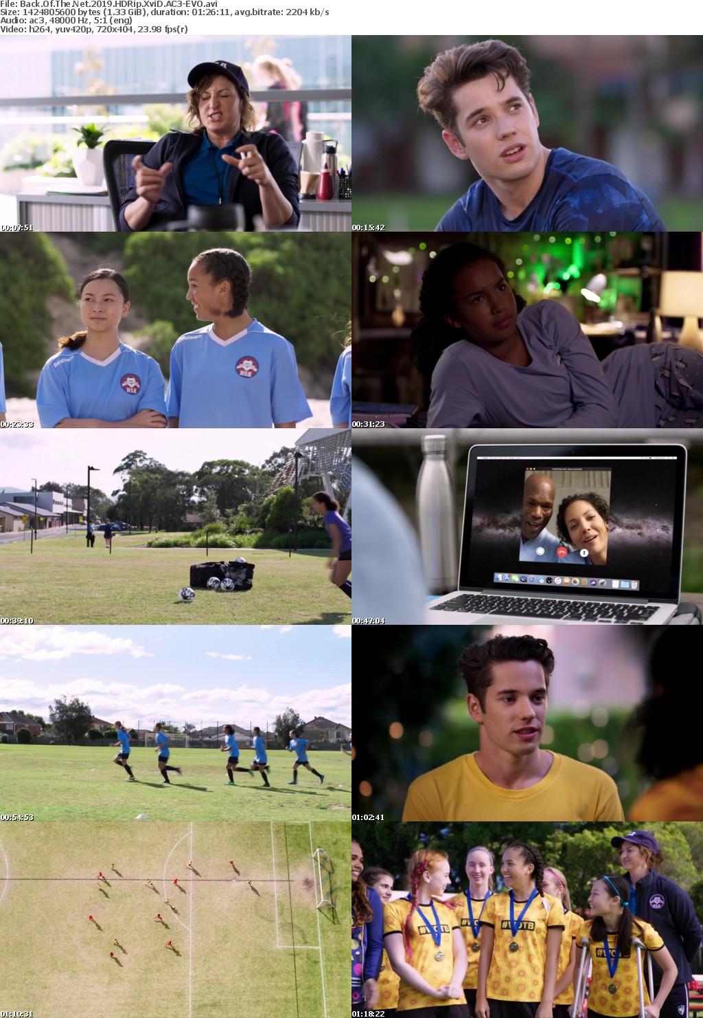 Back Of The Net (2019) HDRip XviD AC3 EVO