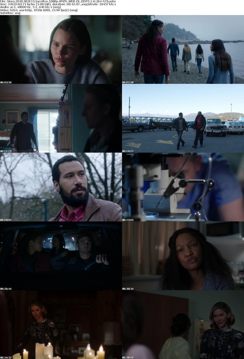 Siren 2018 S02E15 Sacrifice 1080p AMZN WEB-DL DDP5 1 H 264-NTb