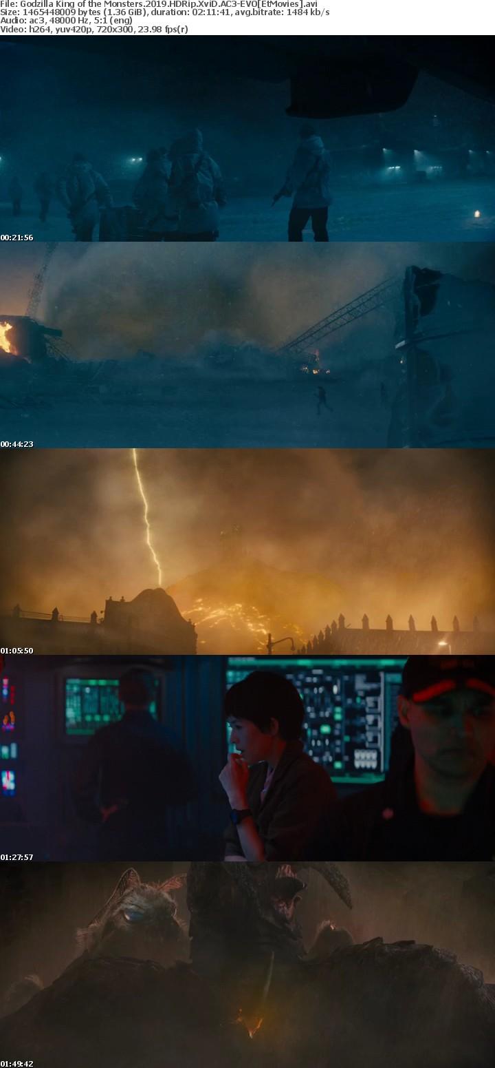 Godzilla King of the Monsters 2019 HDRip XviD AC3-EVO[EtMovies]