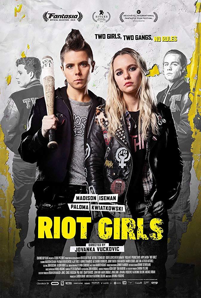 Riot Girls 2019 720p WEBRip 800MB x264-GalaxyRG